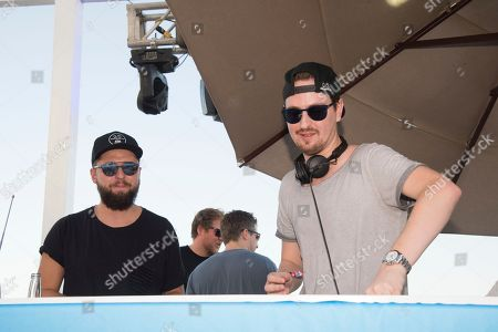 Robin Schulz performs on board the Norwegian Sun during day 3 of The Groove Cruise Cabo, in Cabo