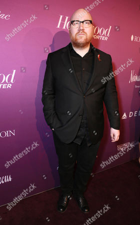 Johann Johannsson arrives at The Hollywood Reporter Nominees Night presented by Cadillac, with Delta, Roberto Coin, and Neiman Marcus Beverly Hills at Spago on Mon., in Beverly Hills, Calif