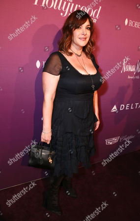 Danielle Brisebois arrives at The Hollywood Reporter Nominees Night presented by Cadillac, with Delta, Roberto Coin, and Neiman Marcus Beverly Hills at Spago on Mon., in Beverly Hills, Calif