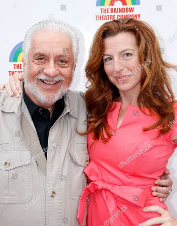 """Stock Picture of Director Jack Heller and actress Tanna Frederick star of The Rainmaker arrives at a Special Performance Benefiting """"Here To Serve"""" on at Edgemar Center For The Performing Arts in Santa Monica, Calif"""