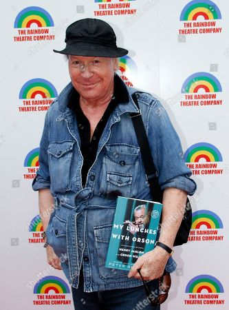 """Stock Photo of Playrwright and actor Henry Jaglom arrives at a Special Performance of The Rainmaker Benefiting """"Here To Serve"""" on at Edgemar Center For The Performing Arts in Santa Monica, Calif"""