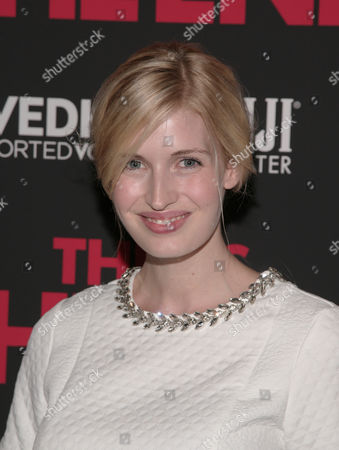 """Fashion model Camilla Hansen attends a screening of """"This Is The End"""" presented by FIJI Water and SVEDKA Vodka, on in New York"""