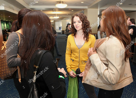 Marlane Barnes chats with fans at the Time Warner Cable and Twilight Fan Breakfast on in Los Angeles