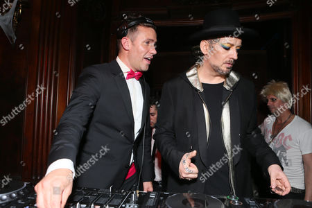 Editorial photo of TREATS! HALLOWEEN WITH ABSOLUT ELYX IN PARTNERSHIP WITH UTSINGER ENTERTAINMENT AT THE LOS ANGELES THEATRE Special guest DJ & i, Los Angeles, USA