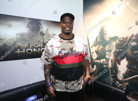 Donovan Carter at Ubisoft E3 2016 - Day 2 at the Los Angeles Convention Center, in Los Angeles