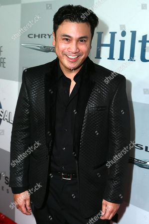 Christian Moralde seen at the Universal, NBC, Focus Features, E! Entertainment Golden Globes After Party Sponsored by Chrysler and Hilton, in Beverly Hills