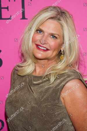 Sharen Turney arrives to The Victoria's Secret Fashion Show on in New York