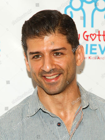 Tony Yazbeck attends Voices for The Voiceless: Stars for Foster Kids at the St. James Theatre, in New York