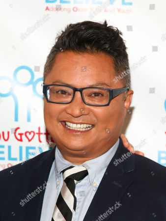 Alec Mapa attends Voices for The Voiceless: Stars for Foster Kids at the St. James Theatre, in New York