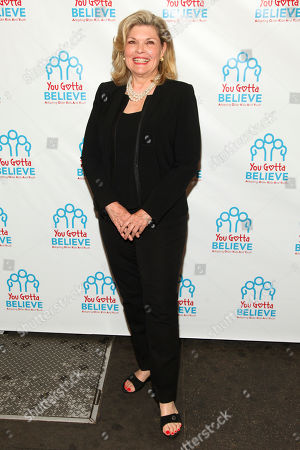 Debra Monk attends Voices for The Voiceless: Stars for Foster Kids at the St. James Theatre, in New York