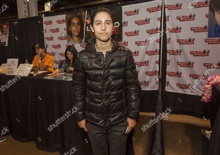 Lorenzo Henrie appears at the Walker Stalker convention, at the Donald E. Stephens Center in Rosemont, IL