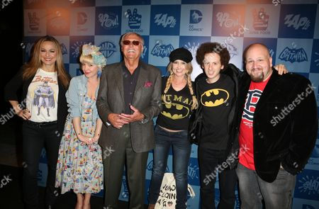 Editorial image of Warner Bros. Consumer Products NEW MERCHANDISE LINE BASED ON 1960'S BATMAN CLASSIC TELEVISION SERIES LAUNCH EVENT, Hollywood, USA