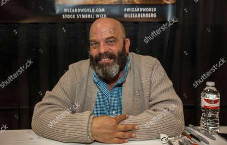 Stock Image of Actor Lee Arenberg during the Wizard World Comic Con Fan Fest Chicago at the Donald E. Stephens Convention Center in Rosemont, IL on