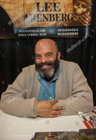 Actor Lee Arenberg during the Wizard World Comic Con Fan Fest Chicago at the Donald E. Stephens Convention Center in Rosemont, IL on