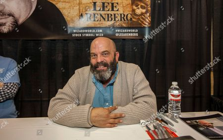 Stock Picture of Actor Lee Arenberg during the Wizard World Comic Con Fan Fest Chicago at the Donald E. Stephens Convention Center in Rosemont, IL on