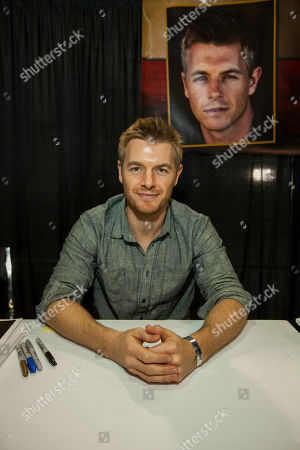 Actor Rick Cosnett during the Wizard World Comic Con Fan Fest Chicago at the Donald E. Stephens Convention Center in Rosemont, IL on