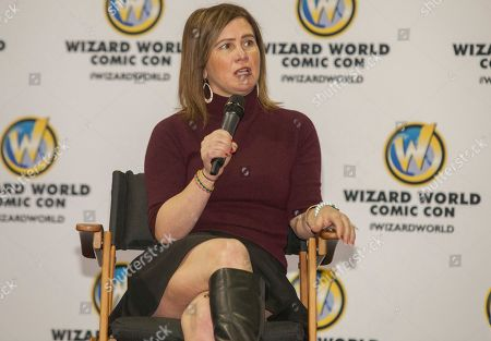 Actress Tracey Gold during the Wizard World Comic Con Fan Fest Chicago at the Donald E. Stephens Convention Center in Rosemont, IL on
