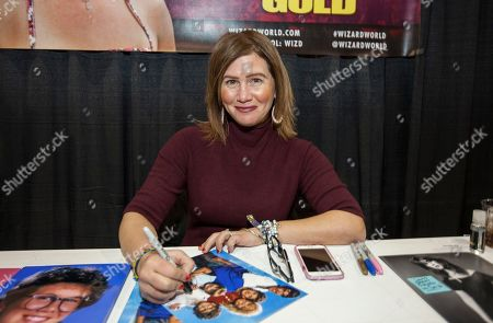 Stock Picture of Actress Tracey Gold during the Wizard World Comic Con Fan Fest Chicago at the Donald E. Stephens Convention Center in Rosemont, IL on