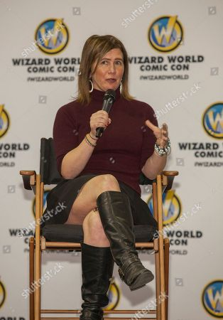 Stock Image of Actress Tracey Gold during the Wizard World Comic Con Fan Fest Chicago at the Donald E. Stephens Convention Center in Rosemont, IL on