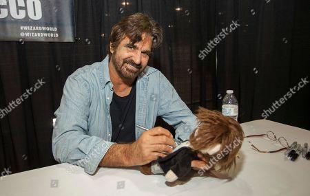 David Della Rocco appears at the Wizard World Chicago Comic-Con, in Chicago