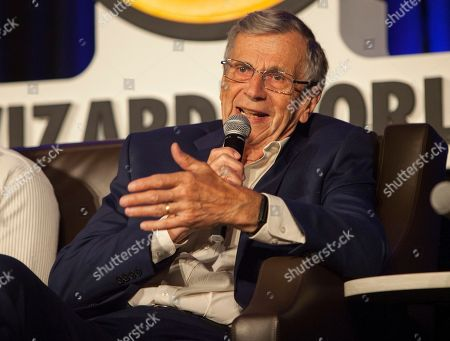 William B. Davis during Wizard World Chicago Comic-Con at the Donald E. Stephens Convention Center, in Chicago