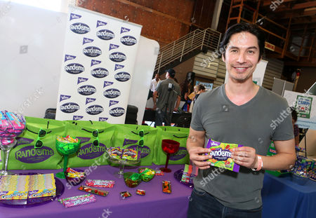 Actor Michael Teh visits the WONKA Randoms candy bar at an Emmy Awards gift suite on in Los Angeles. Please visit WONKA's facebook page at www.facebook.com/wonka