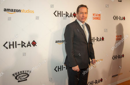 DB Sweeney at the world premiere of Chi-Raq at the Chicago Theatre on in Chicago