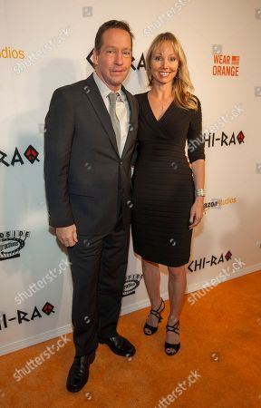 DB Sweeney and wife Ashley Vachon at the world premiere of Chi-Raq at the Chicago Theatre on in Chicago