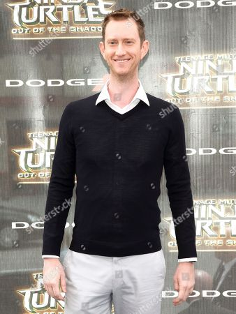 """Jeremy Howard attends the world premiere of """"Teenage Mutant Ninja Turtles: Out of the Shadows"""" at Madison Square Garden, in New York"""