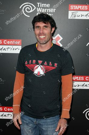 Andy Macdonald attends the X Games Night of Film Benefit presented by Time Warner Cable, in Los Angeles