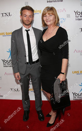 Chris Masterson and Carol Masterson arrive at Youth for Human Rights International Celebrity Benefit at Beso Hollywood on in Los Angeles