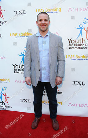 Stock Picture of John Gammon arrives at Youth for Human Rights International Celebrity Benefit at Beso Hollywood on in Los Angeles
