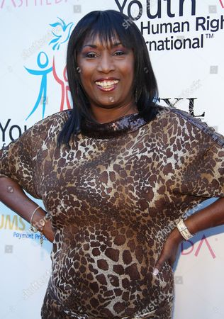 Kiki Shepard arrives at Youth for Human Rights International Celebrity Benefit at Beso Hollywood on in Los Angeles