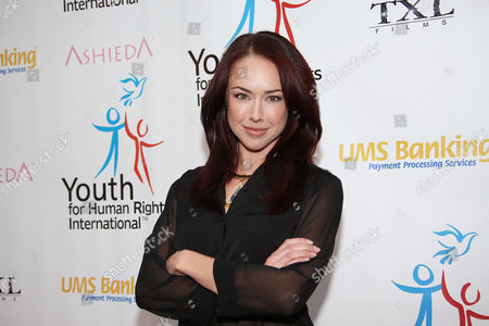 Lindsey McKeon arrives at Youth for Human Rights International Celebrity Benefit at Beso Hollywood on in Los Angeles