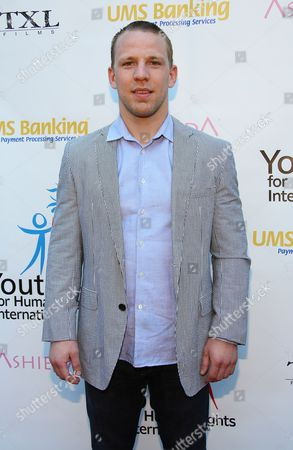 John Gammon arrives at Youth for Human Rights International Celebrity Benefit at Beso Hollywood on in Los Angeles