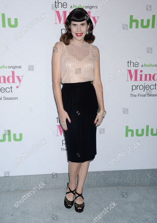 Editorial photo of 'The Mindy Project' TV show final season event, Arrivals, Los Angeles, USA - 12 Sep 2017
