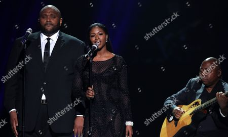 "Editorial image of ""American Idol"" Farewell Season Finale - Show, Los Angeles, USA"