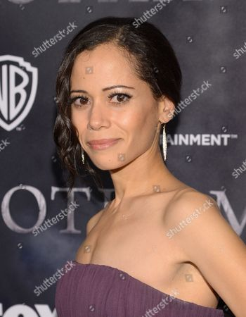 "Actress Victoria Cartagena attends the ""Gotham"" series premiere event at the New York Public Library, in New York"