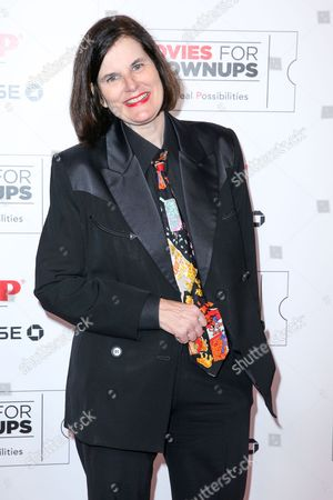 Paula Poundstone arrives at the 15th Annual Movies for Grownups Awards at the Beverly Wilshire Hotel, in Beverly Hills, Calif