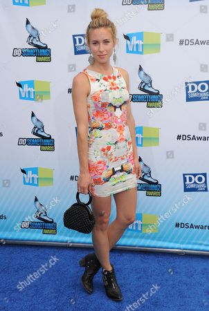 Gillian Zinser attends the 2012 Do Something awards on in Santa Monica, Calif