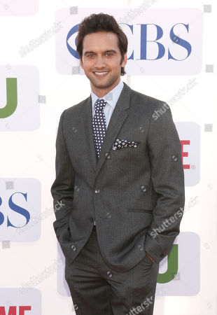 Michael Steger arrives at the CBS, Showtime and The CW 2012 TCA summer tour party at 9900 Wilshire Blvd on in Beverly Hills, California