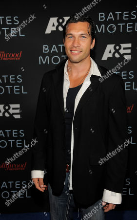 """Actor Marcus Shirock arrives at the """"The Bates Motel Party"""" presented by A&E and the Hollywood Reporter on Day 4 of Comic-Con International, in San Diego"""