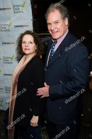Maryann Plunkett and Jay O. Sanders attend the 2013 Drama Desk Awards on in New York