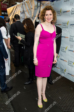 Stock Photo of Christiane Noll attends the 2013 Drama Desk Awards on in New York