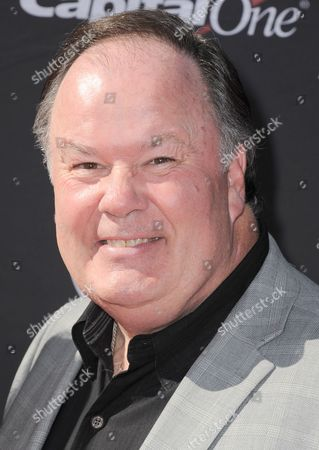 Actor Dennis Haskins arrives at the ESPY Awards, at Nokia Theater in Los Angeles