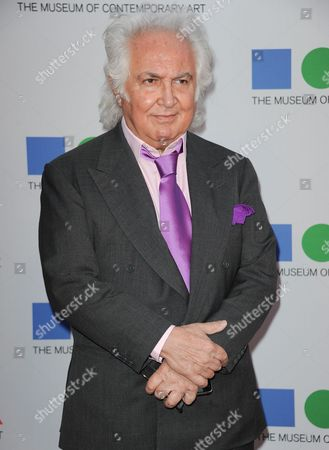 Tony Shafrazi arrives at the 2013 MOCA Gala celebrating the opening of the Urs Fischer exhibition at MOCA on in Los Angeles