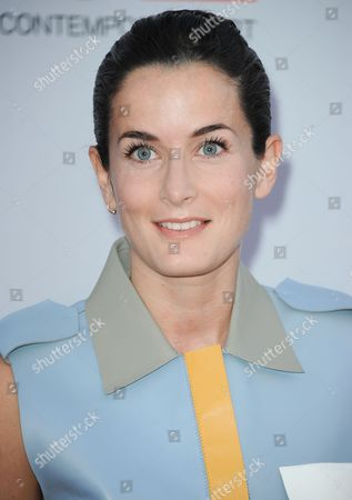 Stock Picture of Lucy Chadwick arrives at the 2013 MOCA Gala celebrating the opening of the Urs Fischer exhibition at MOCA on in Los Angeles