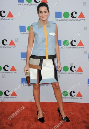 Lucy Chadwick arrives at the 2013 MOCA Gala celebrating the opening of the Urs Fischer exhibition at MOCA on in Los Angeles