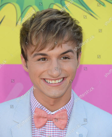 Actor Lucas Cruikshank arrives at the 26th annual Nickelodeon's Kids' Choice Awards, in Los Angeles
