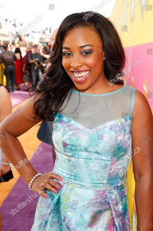 Editorial photo of 2013 Nickelodeons Kids Choice Awards - Red Carpet, Los Angeles, USA